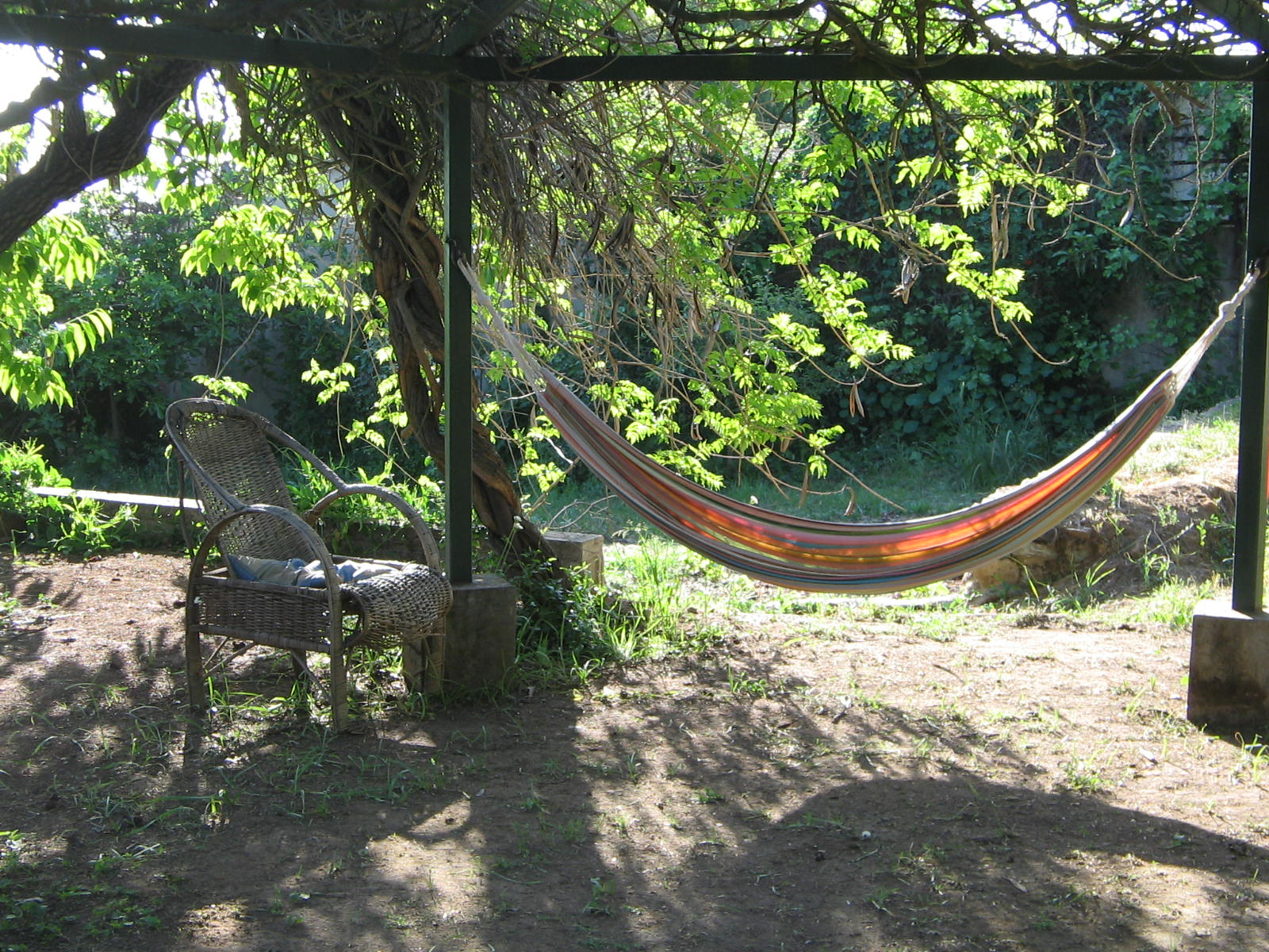 Chile vacation rental hammocks