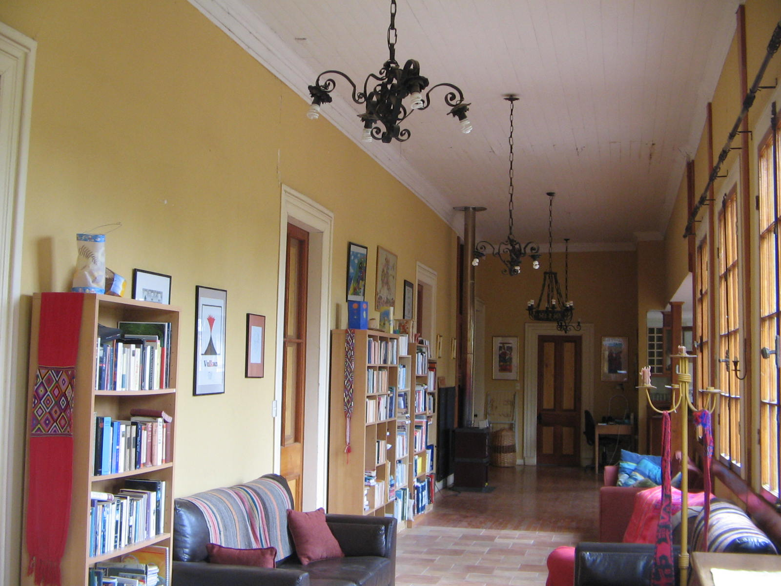 chile vacation rental library