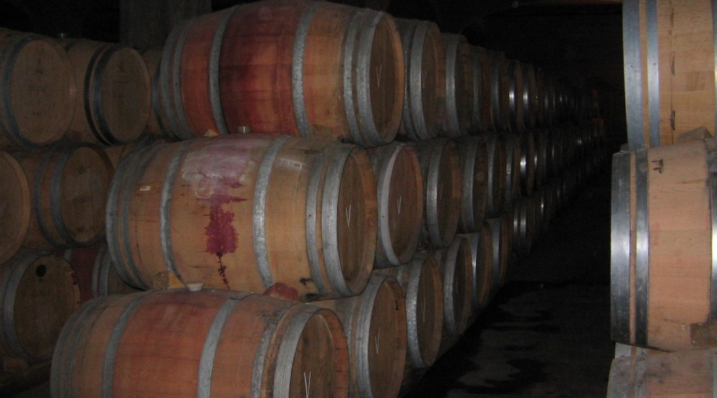 chilean wine barrels
