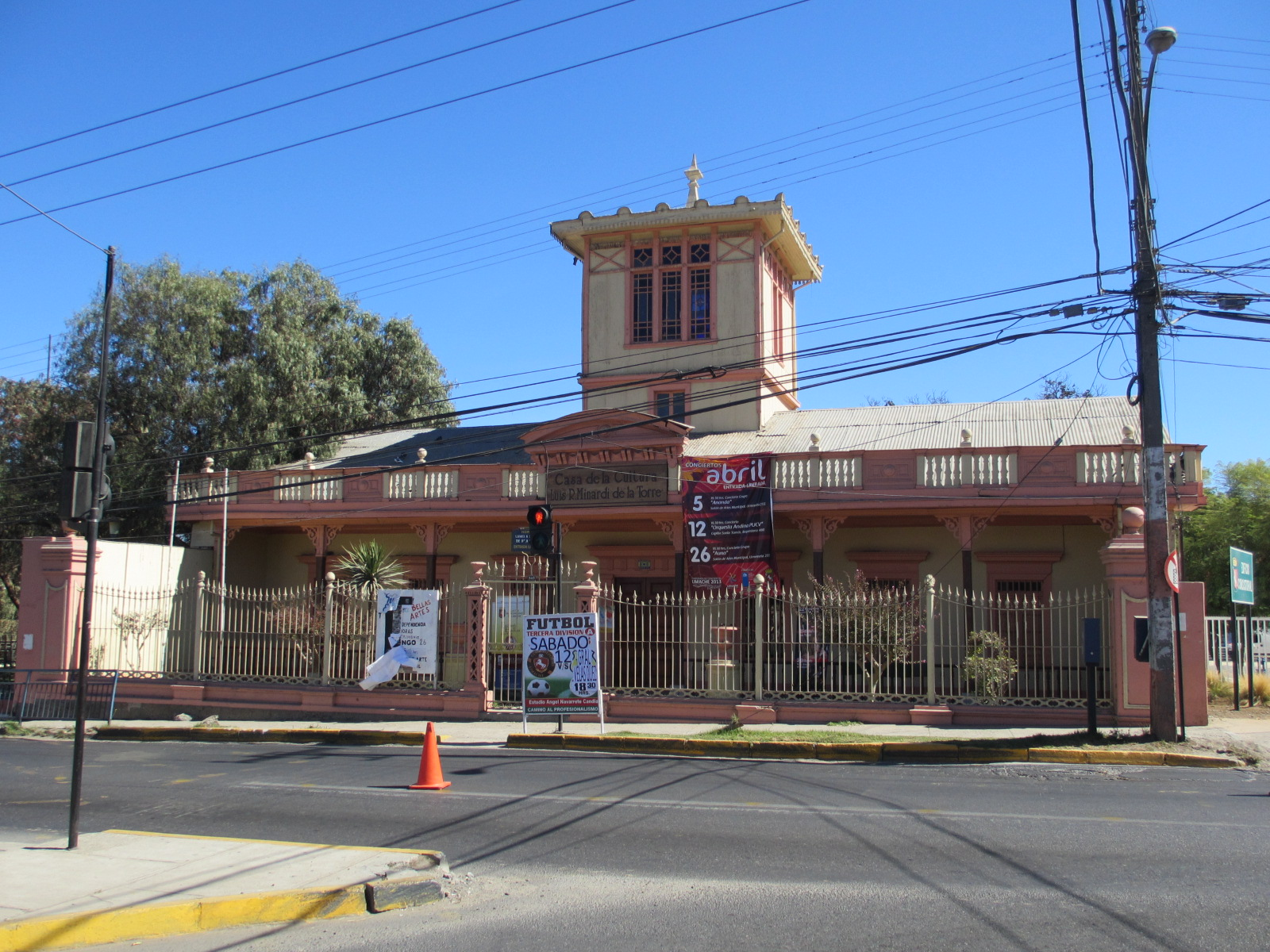 Chile limache cultural center