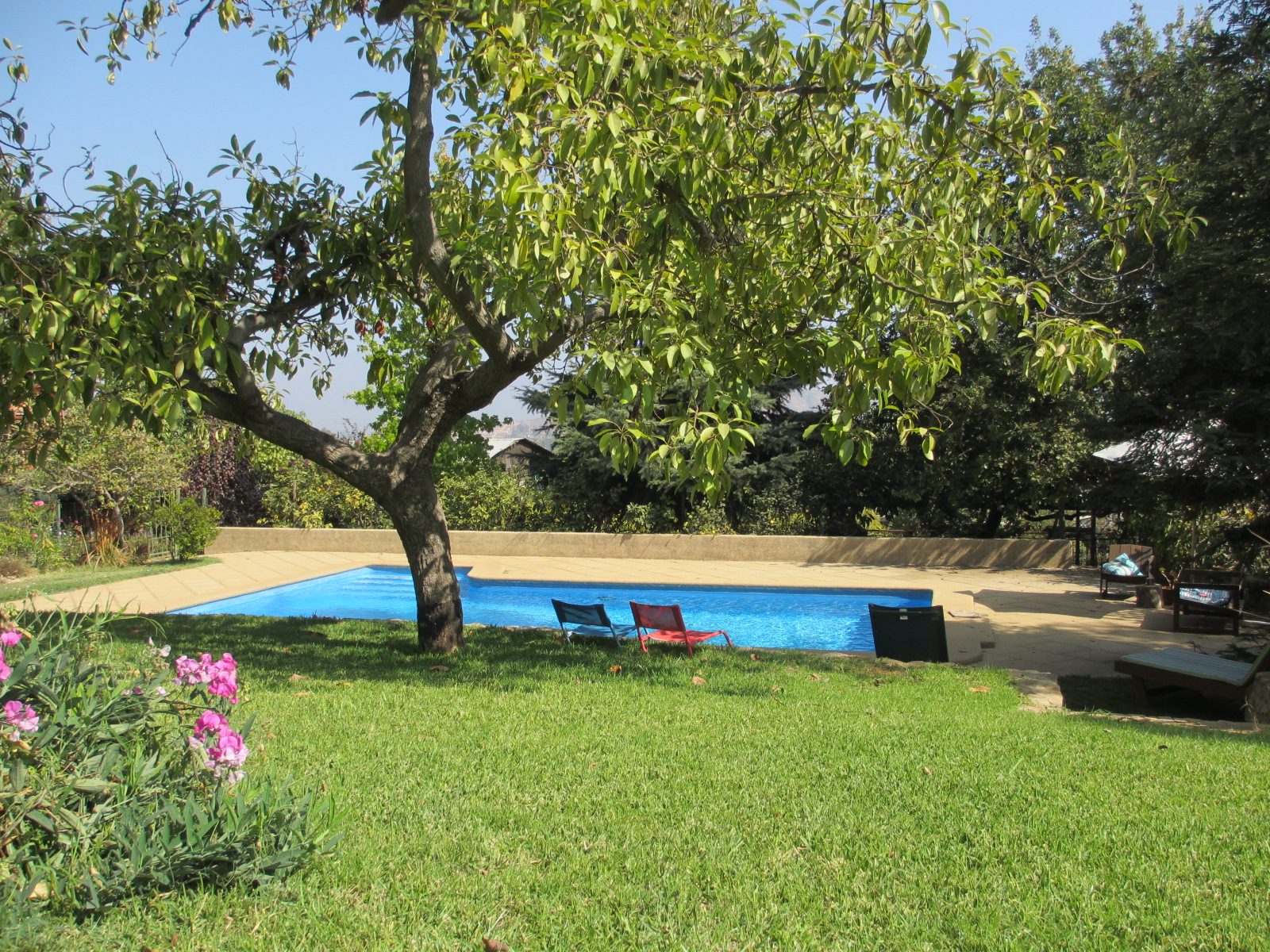chile vacation rental pool